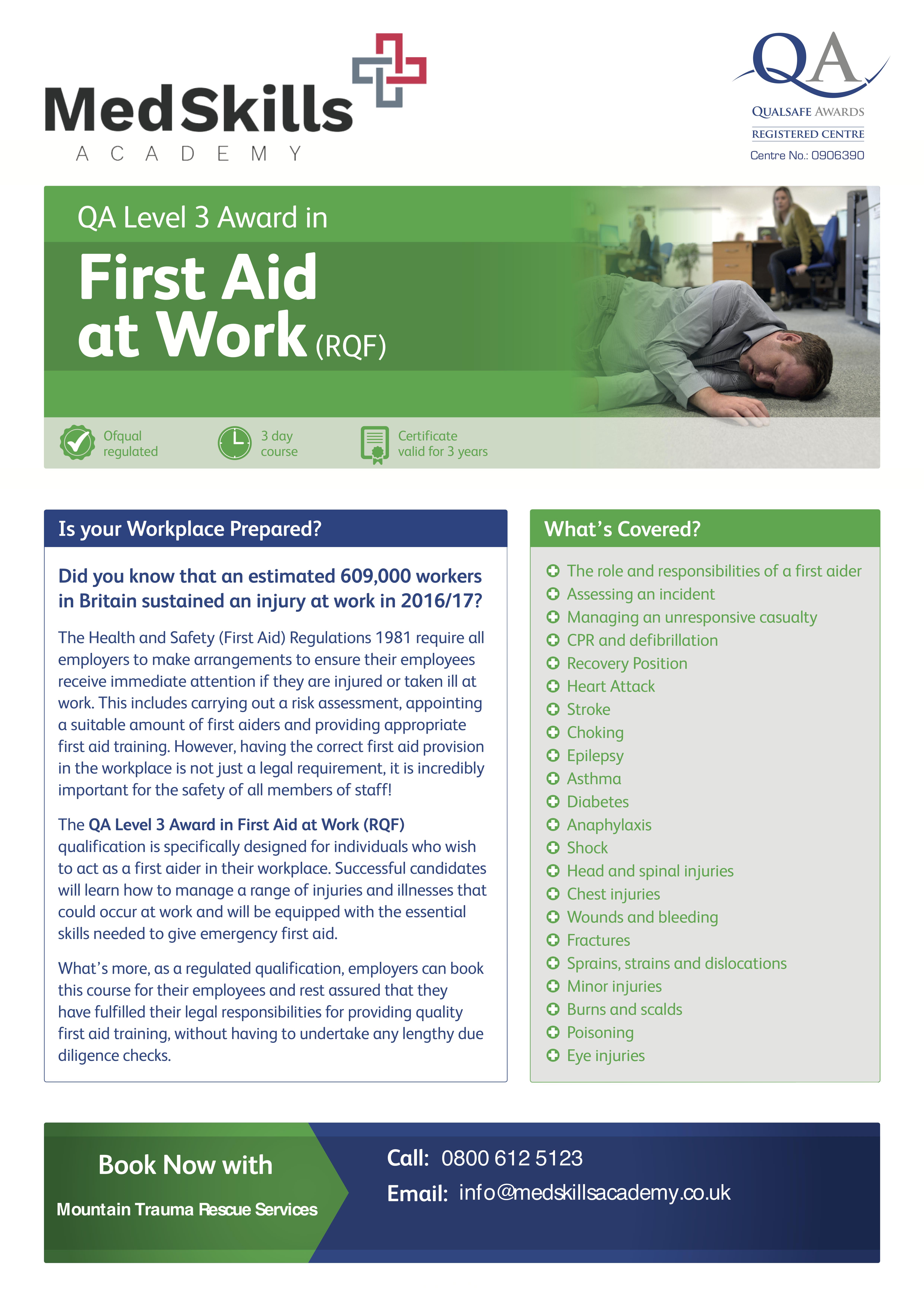 QA_Centre_Marketing_-_First_Aid_at_Work_Flyer